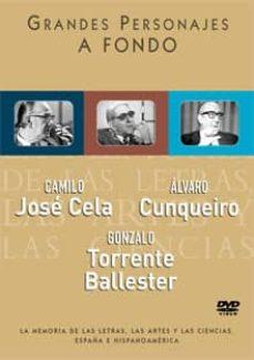 Geekmag.es Camilo Jose Cela, Alvaro Cunqueiro Y Gonzalo Torrente Ballester ( Grandes Personajes A Fondo) (Dvd) Image