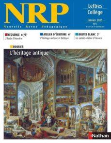 collection nrp : l'héritage antique (format pdf) (ebook)-9782091113470