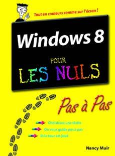windows 8 pas à pas pour les nuls (ebook)-nancy muir-9782754046770
