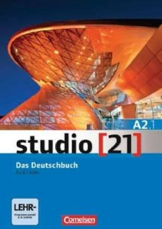 studio (21) a2.1: libro de curso + ebook-9783065205870