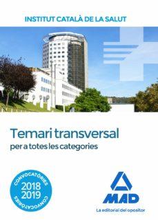 Chapultepecuno.mx Temari Transversal Per A Totes Les Categories De L Institut Catala De La Salut Image