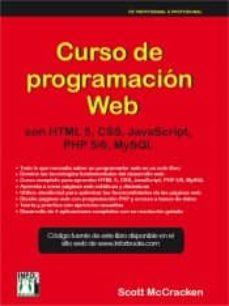 Descargar CURSO DE PROGRAMACION WEB: CON HTL5, CSS, JAVASCRIPT, PHP 5/6  Y MYSQL gratis pdf - leer online