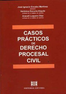 Descargar CASOS PRACTICOS DE DERECHO PROCESAL CIVIL gratis pdf - leer online