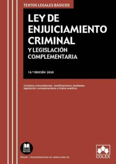 Viamistica.es Ley De Enjuiciamiento Criminal Y Legislación Complementaria Image