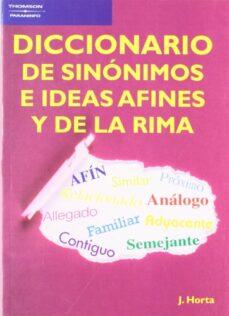 Vinisenzatrucco.it Diccionario De Sinonimos E Ideas Afines Y De La Rima Image