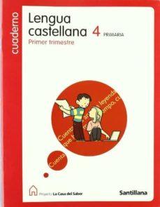 Padella.mx Cuaderno 1 Lengua La Casa Saber 4º Primaria (08) Image
