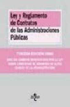 Srazceskychbohemu.cz Ley Y Reglamento De Contratos De Las Administraciones Publicas (3 ª Ed.) Image