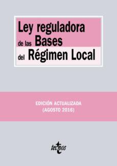 ley reguladora de las bases del régimen local (2ª ed.)-9788430969470