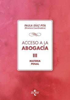 acceso a la abogacía (ebook)-mª paula diaz pita-9788430975570