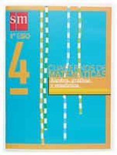 Titantitan.mx Proyecto Recuperacion. Cuaderno De Matematicas 4 (1º Eso): Algebr A, Graficos Y Estadistica (Ed. 2004) Image