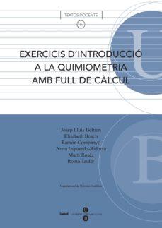 Trailab.it Exercicis D Introducció A La Quimiometriaamb Full De Càlcul Image
