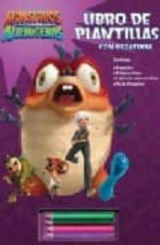 Titantitan.mx Monstruos Contra Alienigenas: Libro De Plantillas (Monstruos Cont Ra Alienigenas) Image