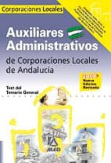 Titantitan.mx Auxiliares Administrativos De Corporaciones Locales De Andalucia. Test Del Temario Comun Image