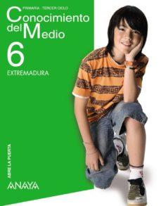 Chapultepecuno.mx Conocimiento Del Medio 6º Educacion Primaria Extremadura Image