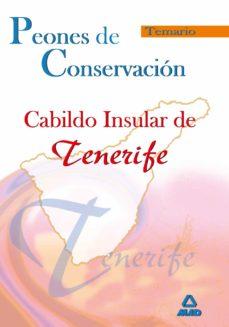 Debatecd.mx Peones De Conservacion Del Cabildo Insular De Tenerife. Temario Image
