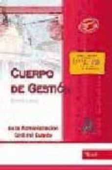 Titantitan.mx Cuerpo De Gestion De La Administracion Civil Del Estado: Test. Tu Rno Libre Image