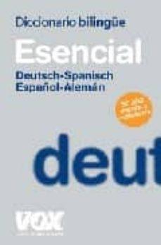 Permacultivo.es Diccionario Esencial Aleman-español / Deutsch-spanisch Image