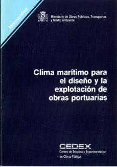 Chapultepecuno.mx Clima Maritimo Para Diseño Y Explotacion De Obras Portuarias (Mon Ografias) Image