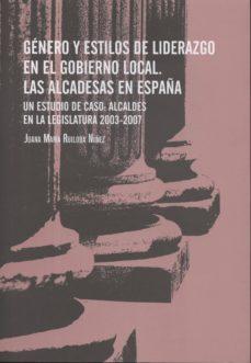 Ironbikepuglia.it Género Y Estilos De Liderazgo En El Gobierno Local. Las Alcaldesa S En España Image