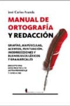 manual de ortografia y redaccion-jose carlos aranda-9788496756670