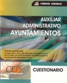 Padella.mx Auxiliar Administrativo De Ayuntamientos: Cuestionario Image