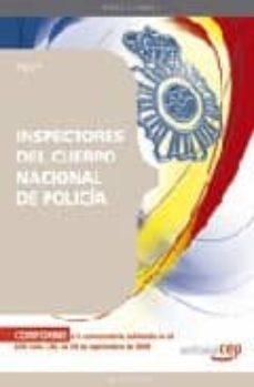 Cdaea.es Inspectores Del Cuerpo Nacional De Policia. Test Image
