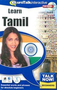Asdmolveno.it Talk Now! Aprenda Tamil Principiantes (Incluye Cd-rom Interactivo / Ejercicios De Vocabulario / Con Base Española) Image