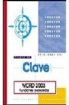 Mrnice.mx Word 2003. Funciones Avanzadas Image