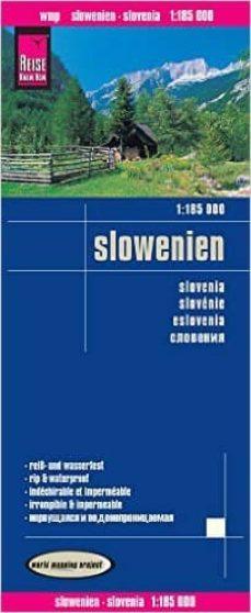 eslovenia 1:185.000 impermeable-9783831773480
