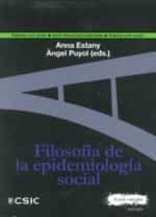 Descarga gratuita de archivos ebooks pdf FILOSOFÍA DE LA EPIDEMIOLOGÍA SOCIAL de  DJVU PDF