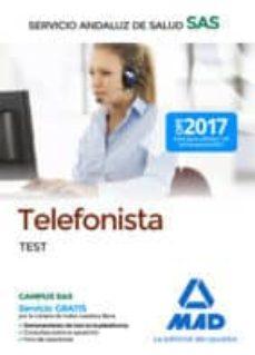 telefonista del servicio andaluz de salud: test-9788414211380