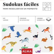 sudokus faciles para resolver en un momento (cuadrados de diversion)-9788415618980