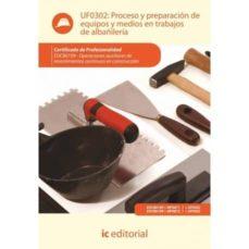 Titantitan.mx (I.b.d.) Proceso Y Preparación De Equipos Y Medios En Trabajos De Albañileria Uf0302 Image