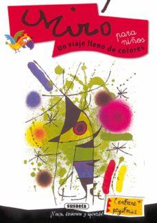 miro para niños: un viaje muy divertido (contiene pegatinas)-9788430541980
