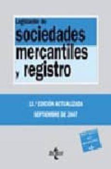Enmarchaporlobasico.es Legislacion De Sociedades Mercantiles Y Registro (13ª Ed.) Image