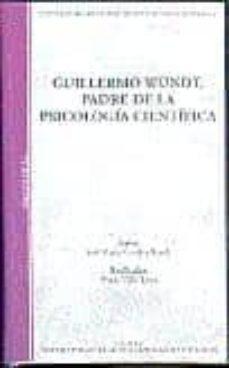 guillermo wundt padre de la psicologia cientifica (video) (50019v h01)-jose maria (guion) gondra bezola-9788436247480