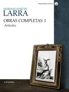 Descargar nuevos audiolibros gratis OBRAS COMPLETAS (VOLUMEN I): ARTICULOS