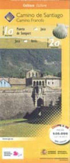 Titantitan.mx Camino De Santiago. Hoja 2. Desde Puerto De Somport A Sangüesa (1 :50.000) Image