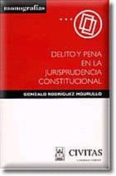 Vinisenzatrucco.it Delito Y Pena En La Jurisprudencia Constitucional Image