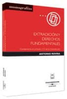 Lofficielhommes.es Extradicion Y Derechos Fundamentales: Comentarios Al Articulo 13. 3 De La Constitucion Image