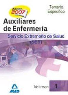 Chapultepecuno.mx Auxiliares De Enfermeria Del Servicio Extremeño De Salud (Ses) Image