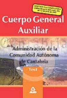 Geekmag.es Cuerpo General Auxiliar De La Administracion De La Comunidad Auto Noma De Cantabria: Test Image