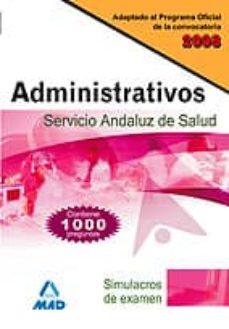 Emprende2020.es Administrativos Del Servicio Andaluz De Salud. Simulacros De Examen Image