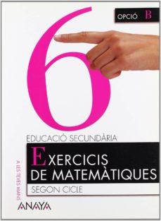 Inmaswan.es Matemàtiques 4º Educacion Secundaria Exercicis De Matematicas 6 Illes Balears Catala Image