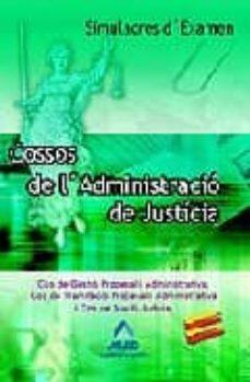 Vinisenzatrucco.it Cossos De L Administracio De Justicia: Simulacres D Examen Image