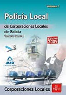 Followusmedia.es Policias Locales De Galicia. Temario General. Volumen I Image