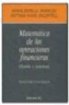 Elmonolitodigital.es Matematica De Las Operaciones Financieras: Teoria Y Practica Image