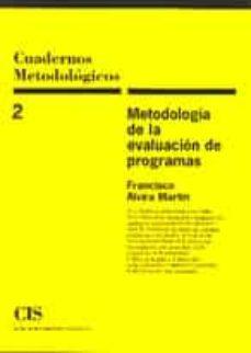 Chapultepecuno.mx Metodologia De La Evaluacion De Programas Image