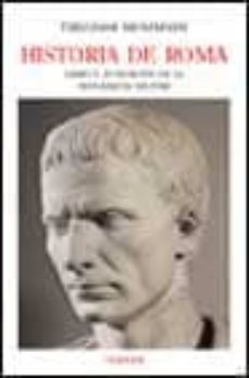 historia de roma (libro v): fundacion de la monarquia militar-theodor mommsen-9788475066080