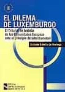 Mrnice.mx El Dilema De Luxemburgo: El Tribunal De Justicia De Las Comunidad Es Europeas Ante El Principio De Subsidiariedad Image